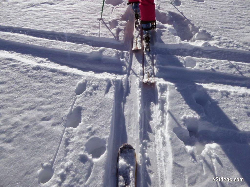 P1050028 1024x768 - Sexta esquiada, Cerler mantiene nieve polvo en cotas altas.