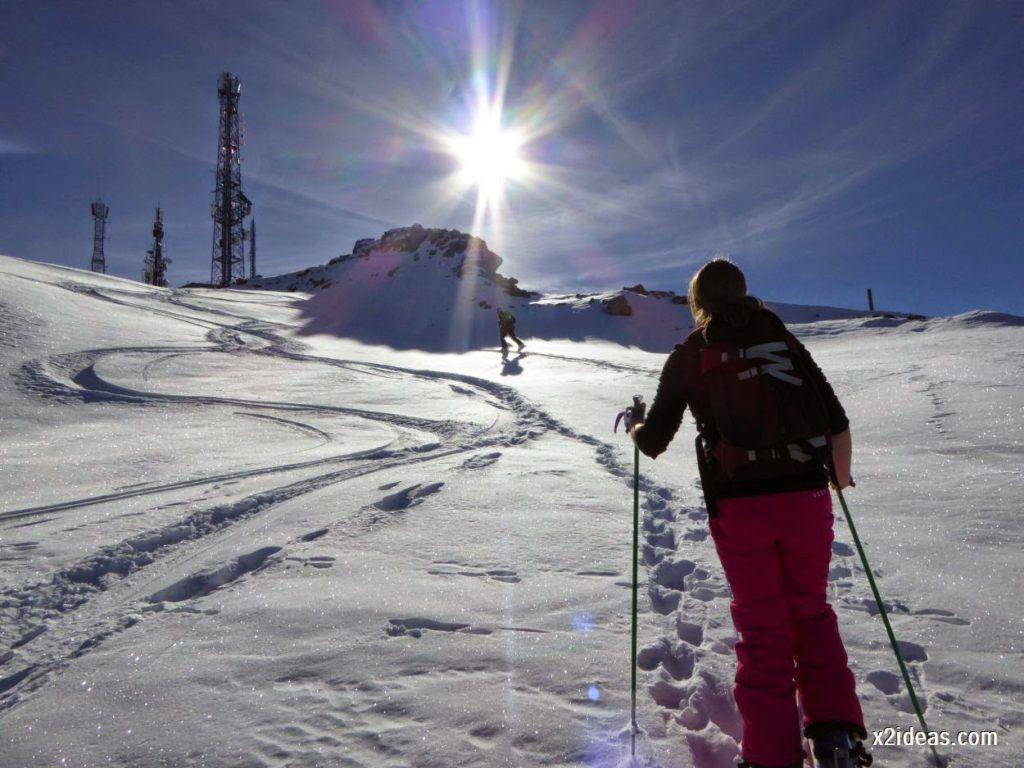 P1050031 1024x768 - Sexta esquiada, Cerler mantiene nieve polvo en cotas altas.