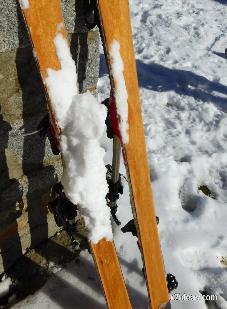 P1050032 - Sexta esquiada, Cerler mantiene nieve polvo en cotas altas.