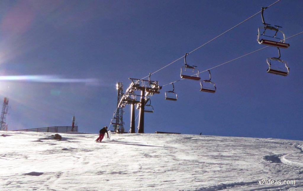 P1050038 1024x646 - Sexta esquiada, Cerler mantiene nieve polvo en cotas altas.