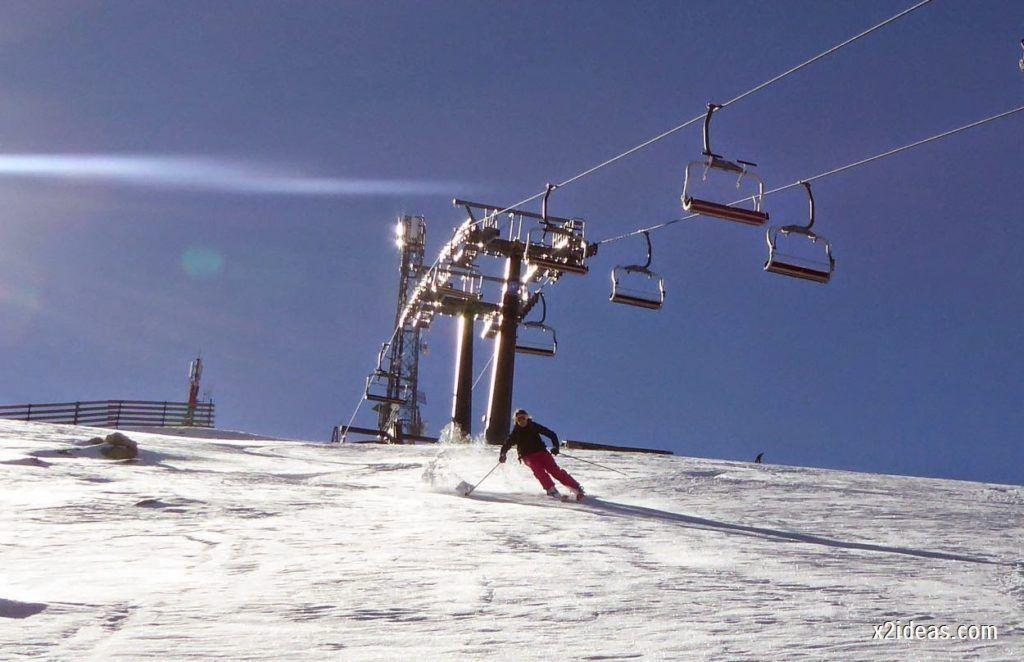 P1050039 1024x662 - Sexta esquiada, Cerler mantiene nieve polvo en cotas altas.