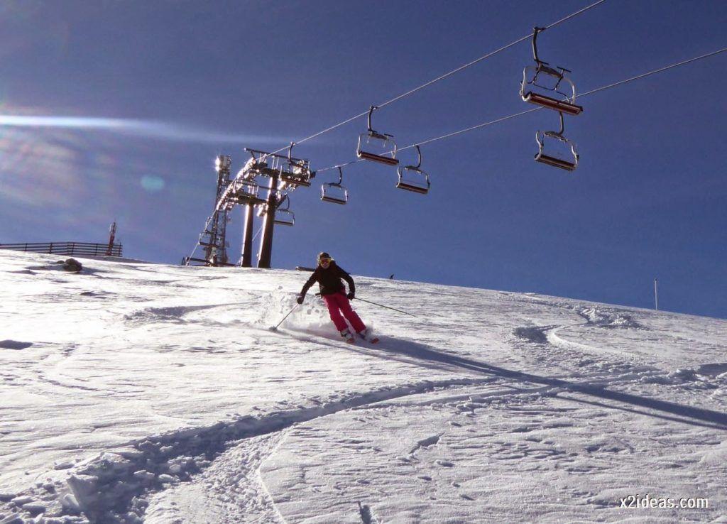 P1050041 1024x738 - Sexta esquiada, Cerler mantiene nieve polvo en cotas altas.