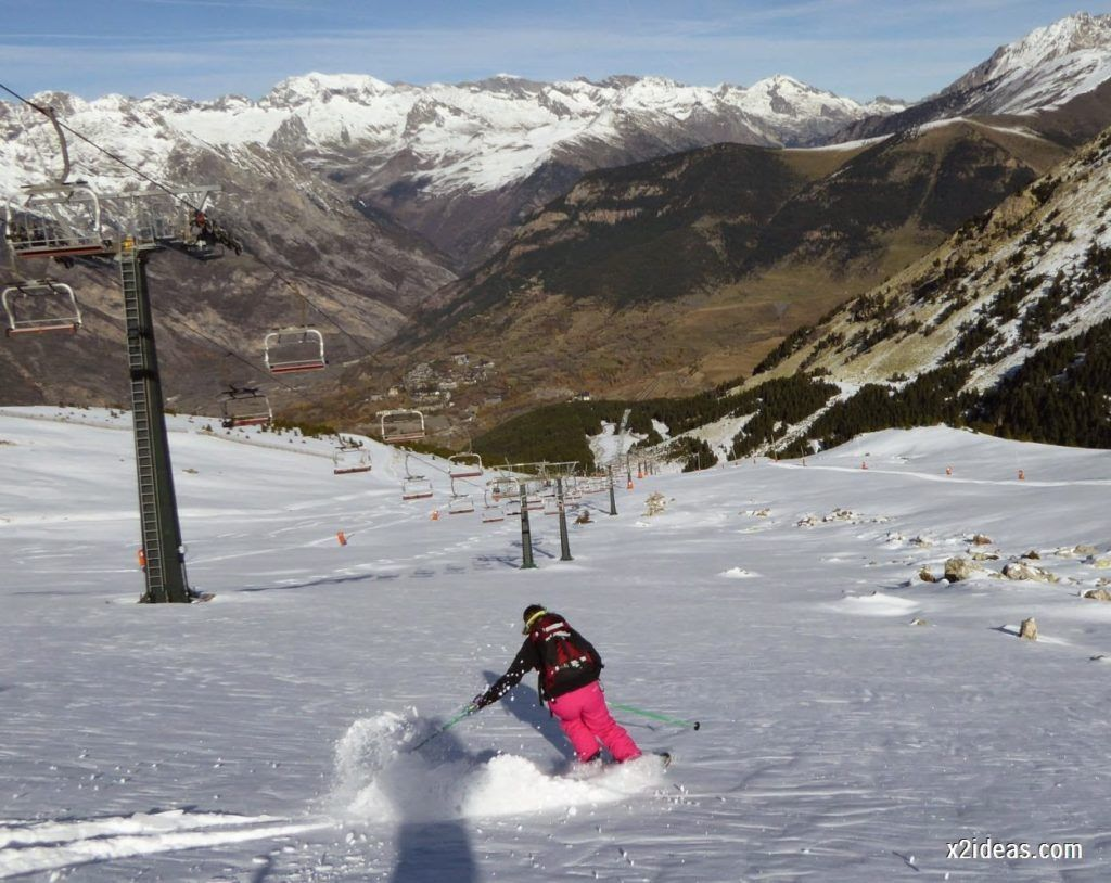P1050045 1024x814 - Sexta esquiada, Cerler mantiene nieve polvo en cotas altas.