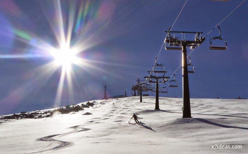 P1050063 1024x634 - Sexta esquiada, Cerler mantiene nieve polvo en cotas altas.