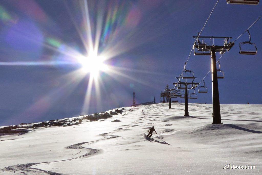 P1050064 1024x686 - Sexta esquiada, Cerler mantiene nieve polvo en cotas altas.