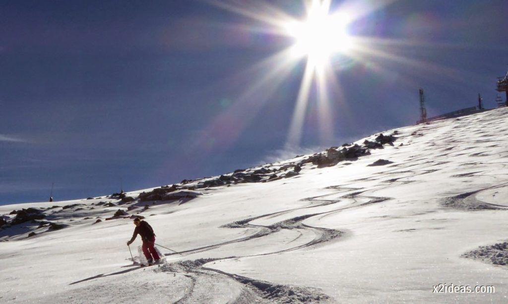 P1050090 1024x614 - Sexta esquiada, Cerler mantiene nieve polvo en cotas altas.