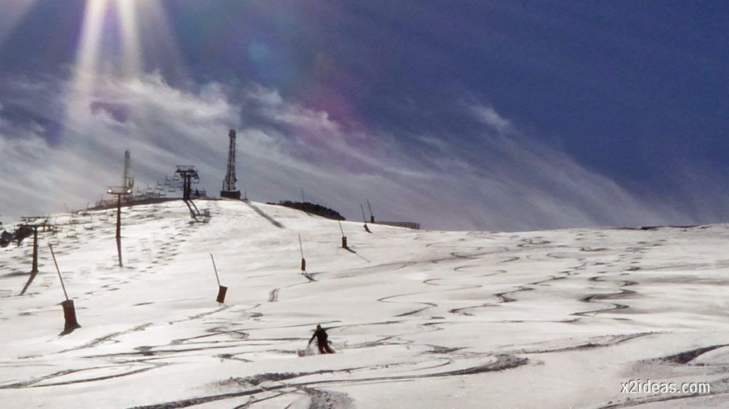 P1050107 1024x575 - Sexta esquiada, Cerler mantiene nieve polvo en cotas altas.