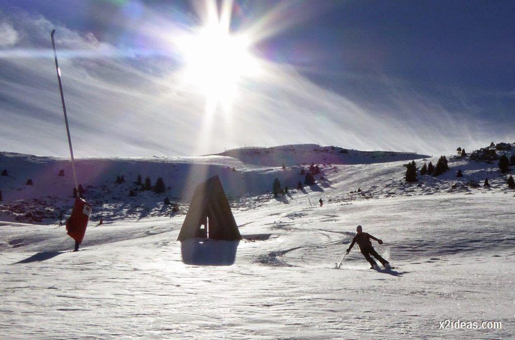 P1050137 1024x676 - Sexta esquiada, Cerler mantiene nieve polvo en cotas altas.