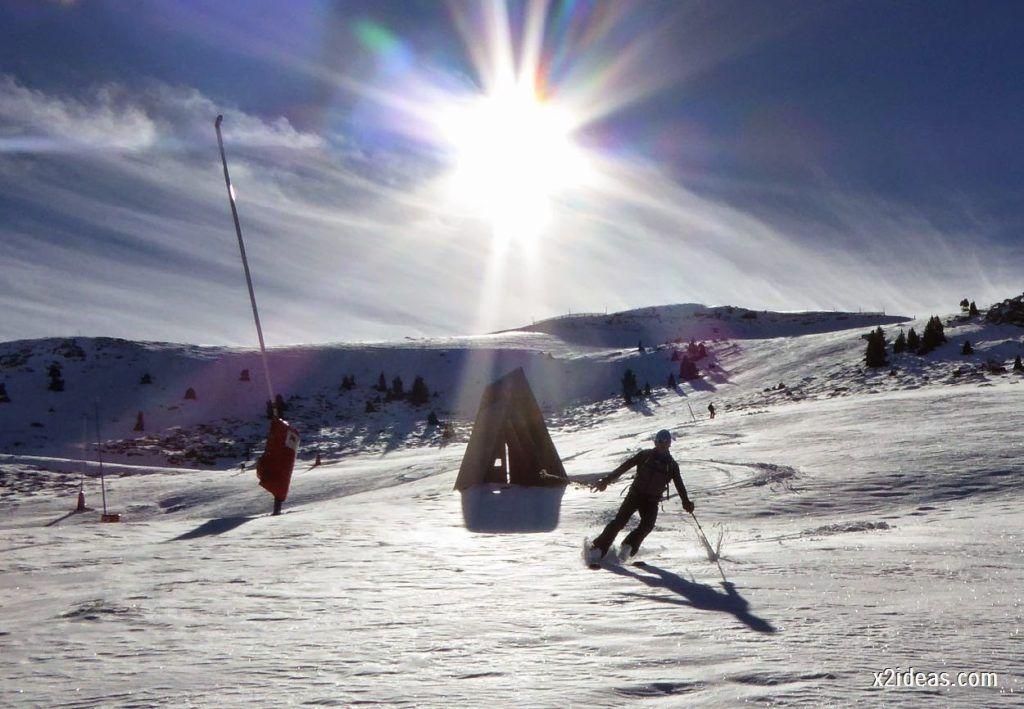 P1050138 1024x709 - Sexta esquiada, Cerler mantiene nieve polvo en cotas altas.