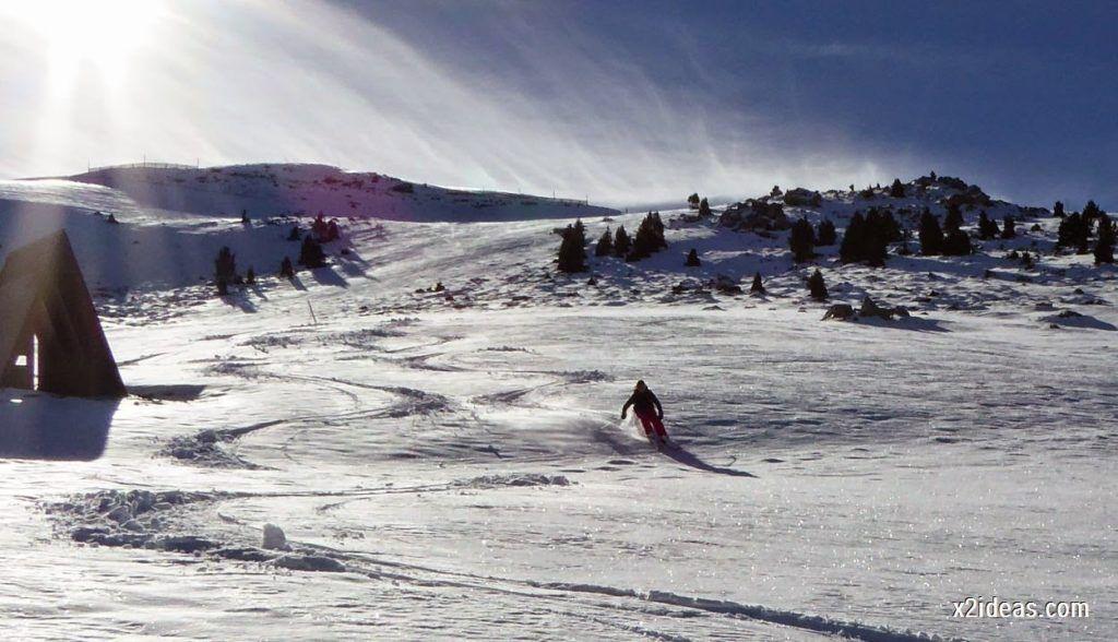 P1050148 1024x588 - Sexta esquiada, Cerler mantiene nieve polvo en cotas altas.