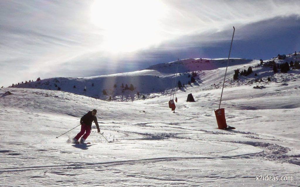 P1050183 1024x638 - Sexta esquiada, Cerler mantiene nieve polvo en cotas altas.