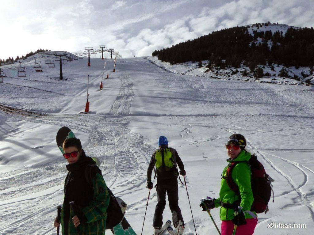P1050219 1024x767 - Séptima, bajamos por las pistas de Cerler, Valle de Benasque.