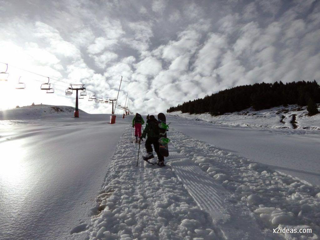 P1050220 1024x768 - Séptima, bajamos por las pistas de Cerler, Valle de Benasque.
