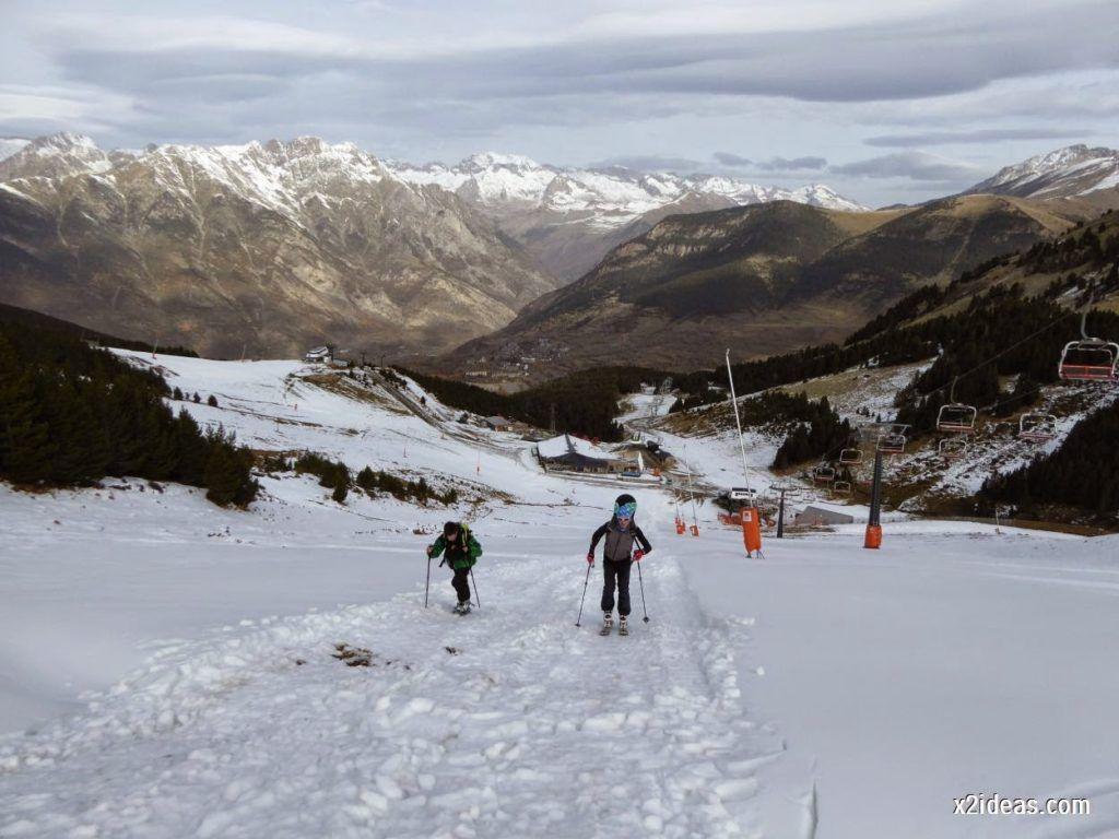 P1050225 1024x768 - Séptima, bajamos por las pistas de Cerler, Valle de Benasque.