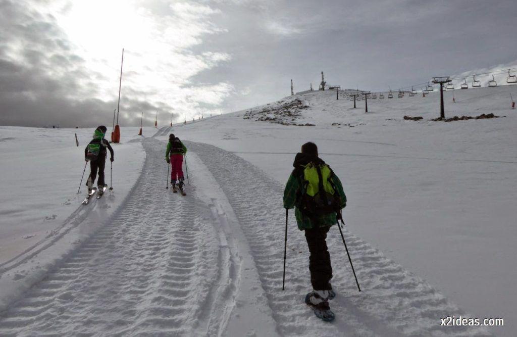 P1050228 1024x667 - Séptima, bajamos por las pistas de Cerler, Valle de Benasque.