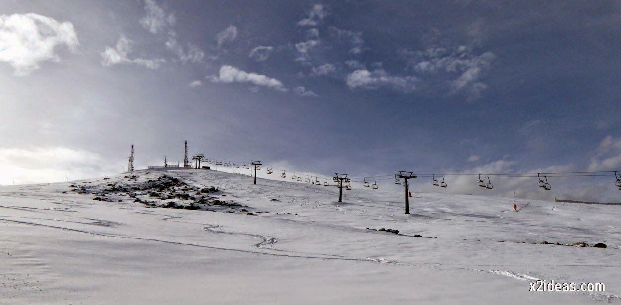 P1050234 4 - Séptima, bajamos por las pistas de Cerler, Valle de Benasque.