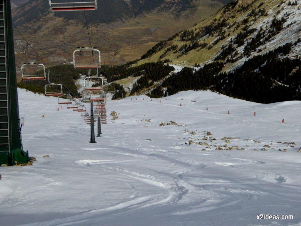 P1050240 1024x768 - Séptima, bajamos por las pistas de Cerler, Valle de Benasque.