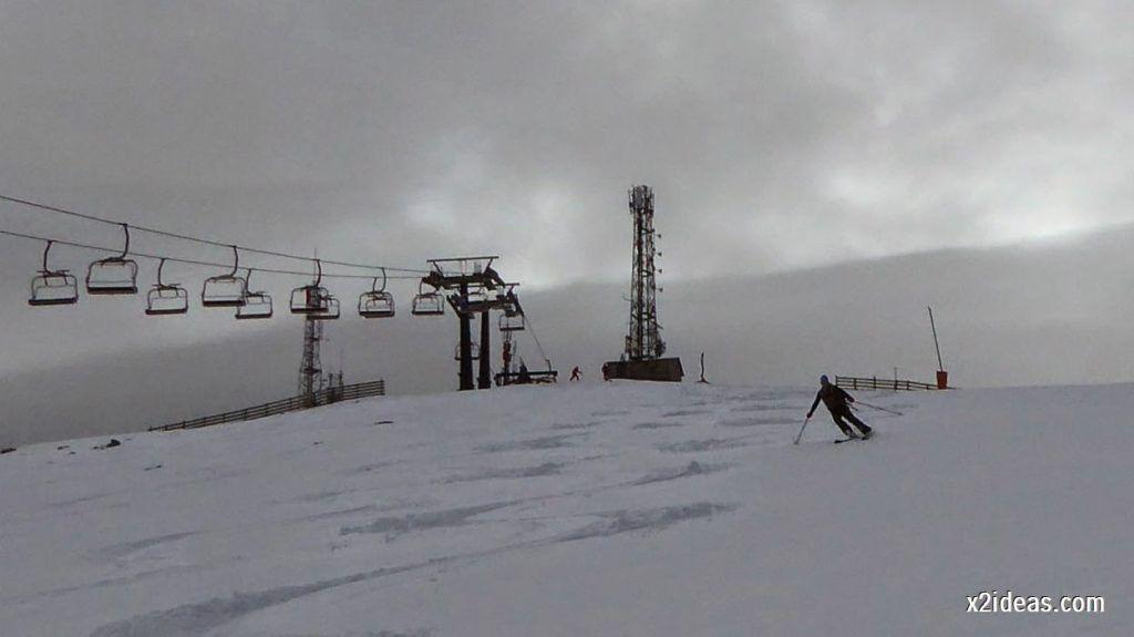 P1050246 1024x575 - Séptima, bajamos por las pistas de Cerler, Valle de Benasque.