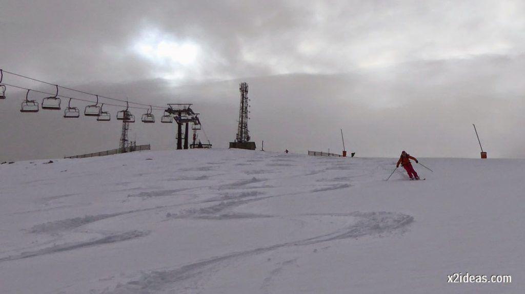 P1050260 1024x574 - Séptima, bajamos por las pistas de Cerler, Valle de Benasque.
