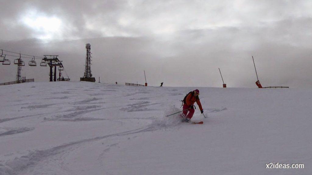 P1050263 1024x575 - Séptima, bajamos por las pistas de Cerler, Valle de Benasque.