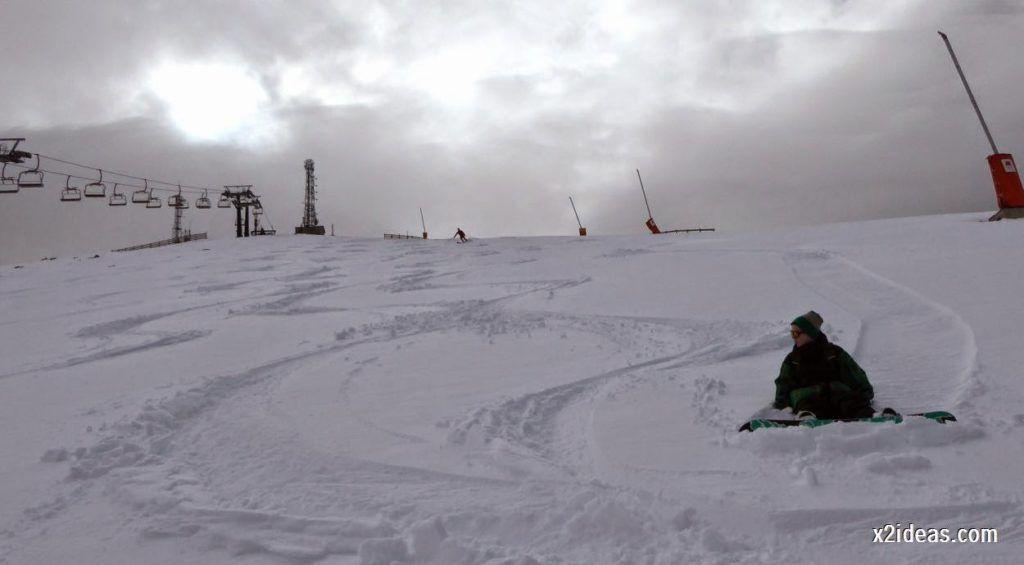 P1050275 1024x565 - Séptima, bajamos por las pistas de Cerler, Valle de Benasque.