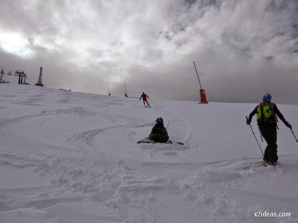 P1050277 1024x768 - Séptima, bajamos por las pistas de Cerler, Valle de Benasque.