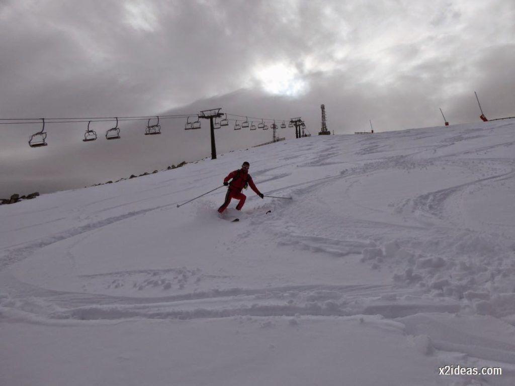 P1050278 1024x768 - Séptima, bajamos por las pistas de Cerler, Valle de Benasque.
