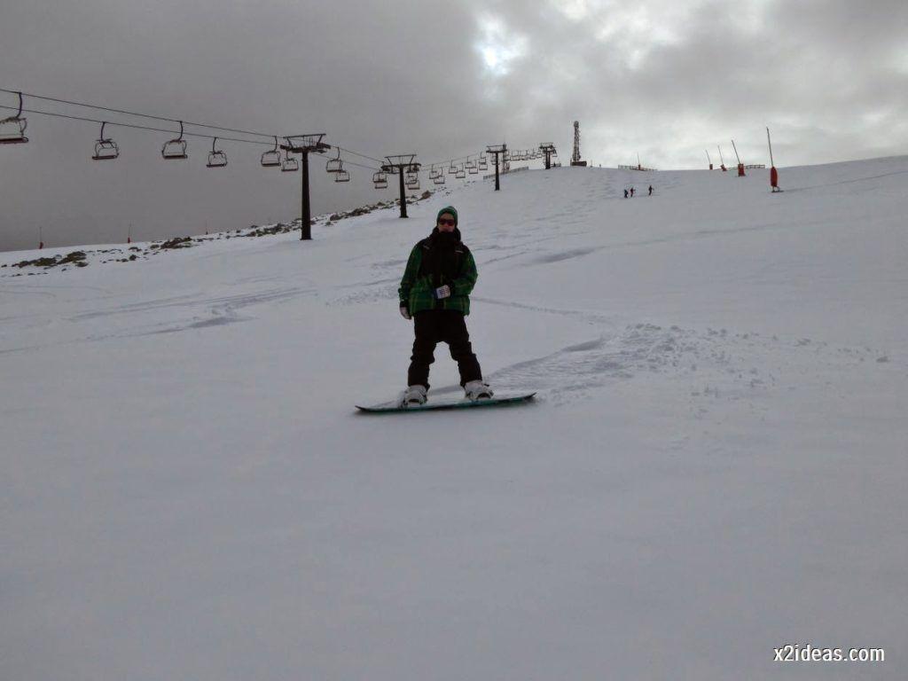 P1050283 1024x768 - Séptima, bajamos por las pistas de Cerler, Valle de Benasque.