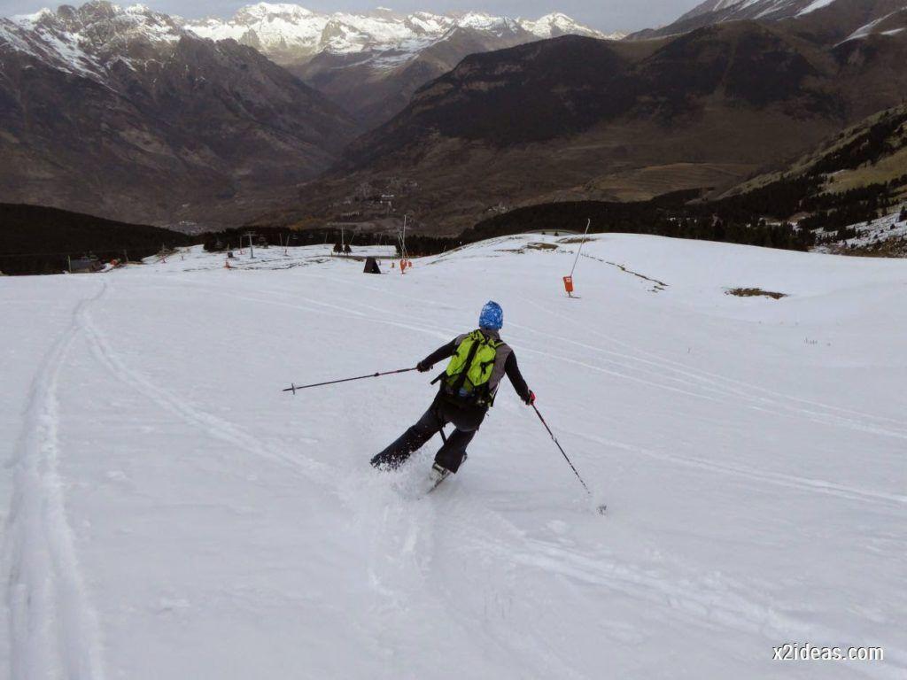 P1050306 1024x768 - Séptima, bajamos por las pistas de Cerler, Valle de Benasque.
