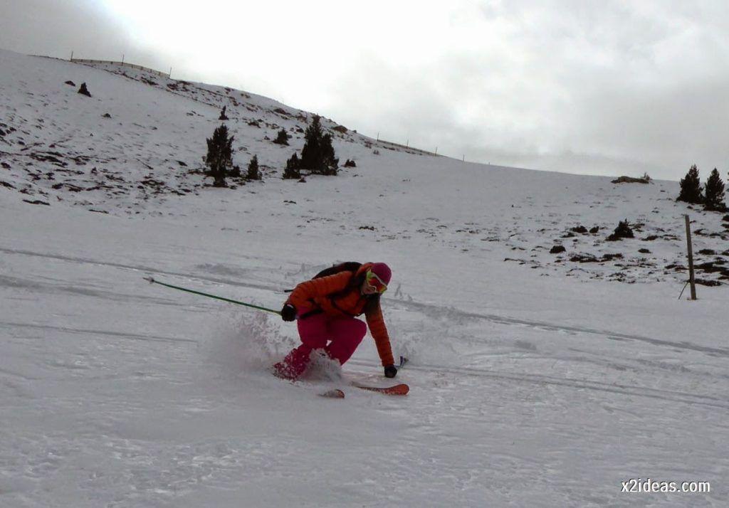 P1050313 1024x714 - Séptima, bajamos por las pistas de Cerler, Valle de Benasque.