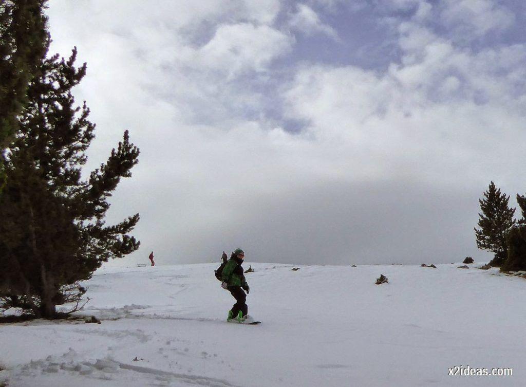 P1050324 1024x753 - Séptima, bajamos por las pistas de Cerler, Valle de Benasque.