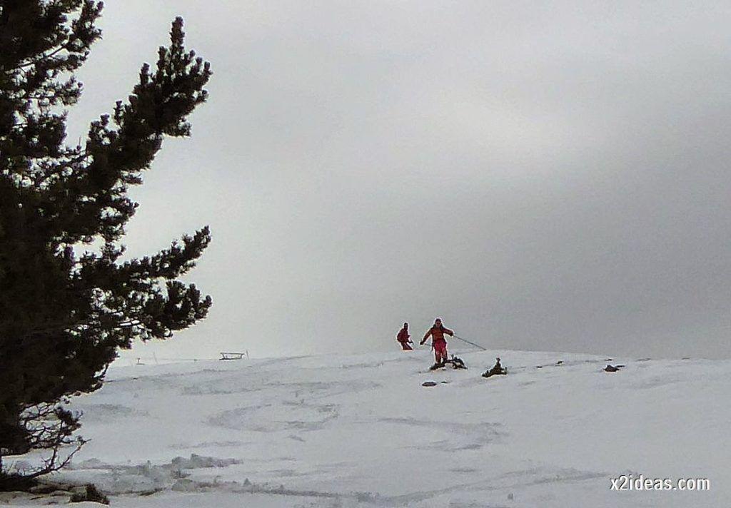 P1050330 1024x712 - Séptima, bajamos por las pistas de Cerler, Valle de Benasque.