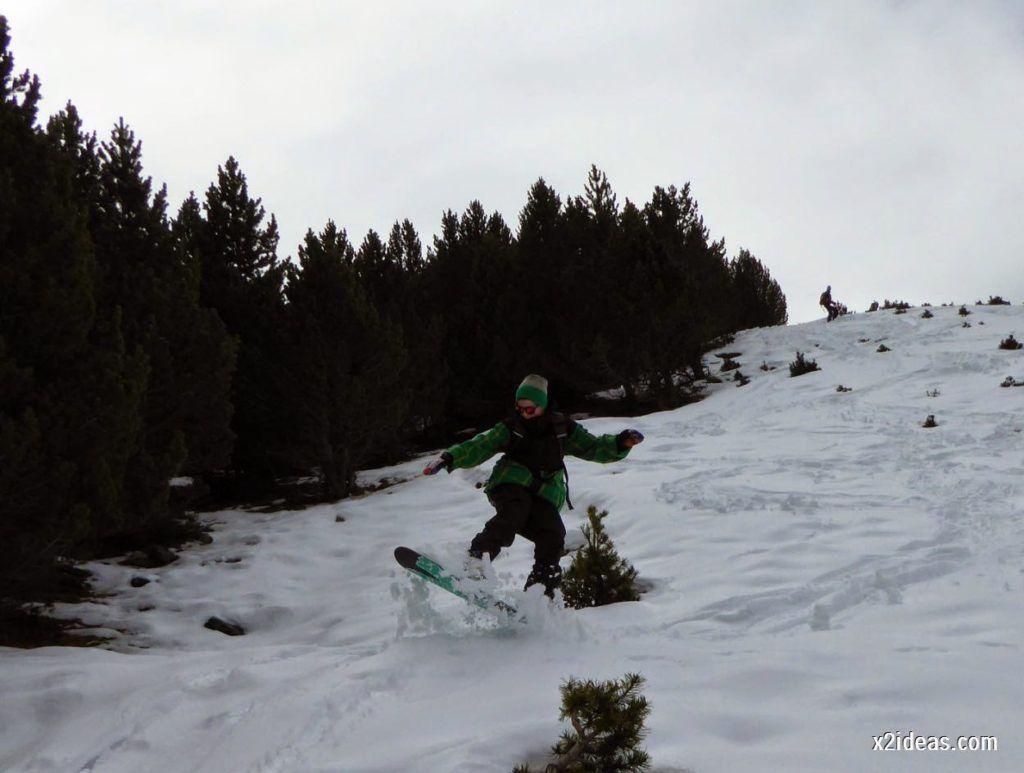 P1050348 1024x773 - Séptima, bajamos por las pistas de Cerler, Valle de Benasque.