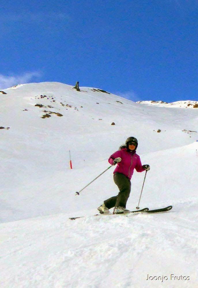 P1050881 - Esquiando como en primavera en Cerler.