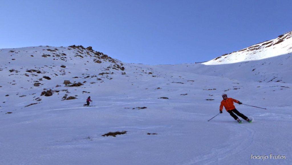 P1050973 1024x578 - Esquiando como en primavera en Cerler.