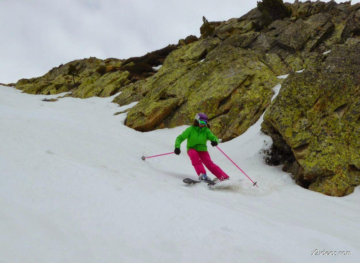 P1080143 3 - Gozando de la nieve primavera, Cerler