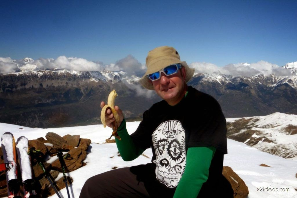 P1040996 1024x682 - Pico Gallinero con nieve polvo, Cerler