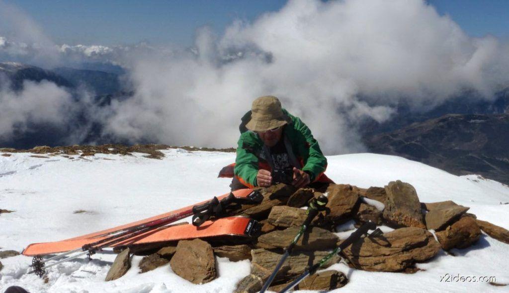 P1050002 1024x591 - Pico Gallinero con nieve polvo, Cerler