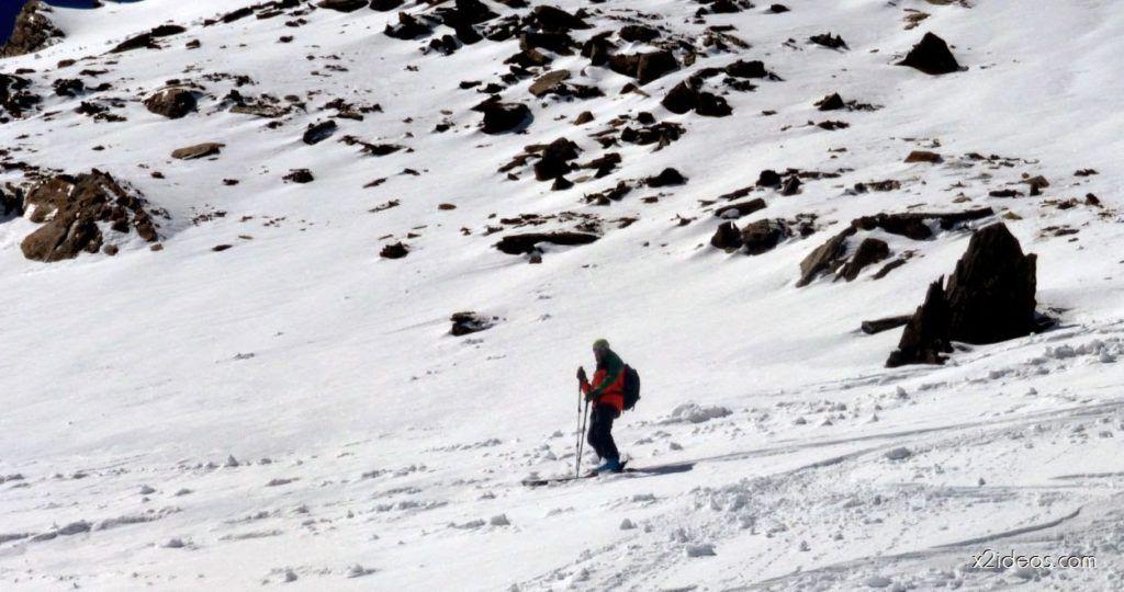 P1050005 1024x540 - Pico Gallinero con nieve polvo, Cerler