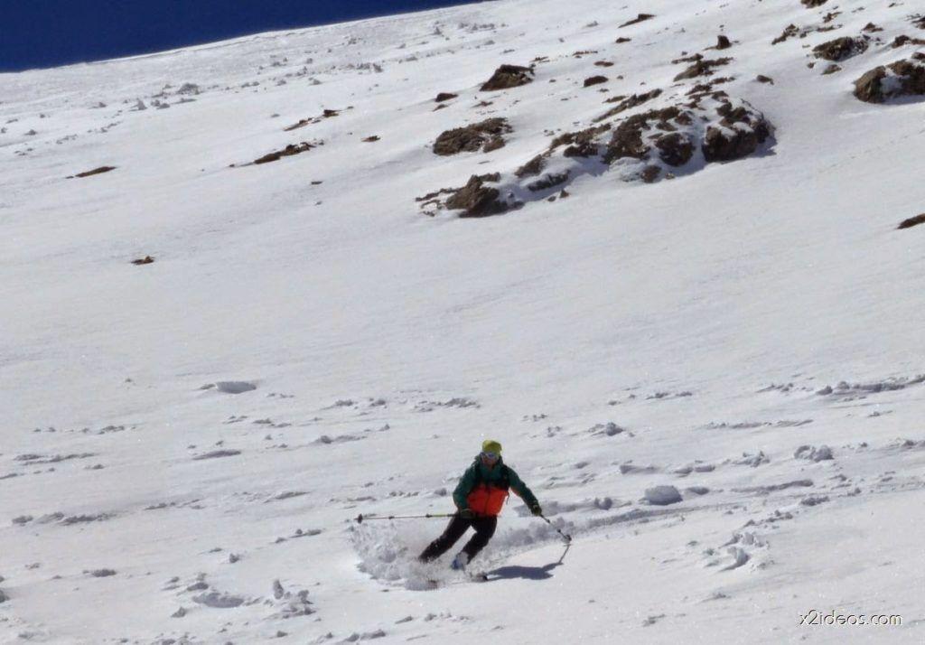 P1050006 1024x714 - Pico Gallinero con nieve polvo, Cerler