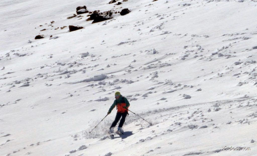 P1050007 1024x622 - Pico Gallinero con nieve polvo, Cerler