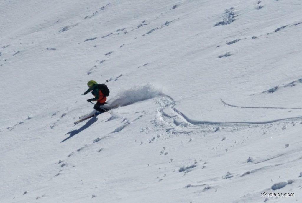 P1050009 1024x690 - Pico Gallinero con nieve polvo, Cerler