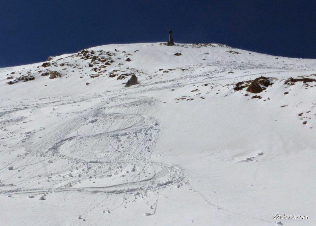 P1050010 1024x733 - Pico Gallinero con nieve polvo, Cerler