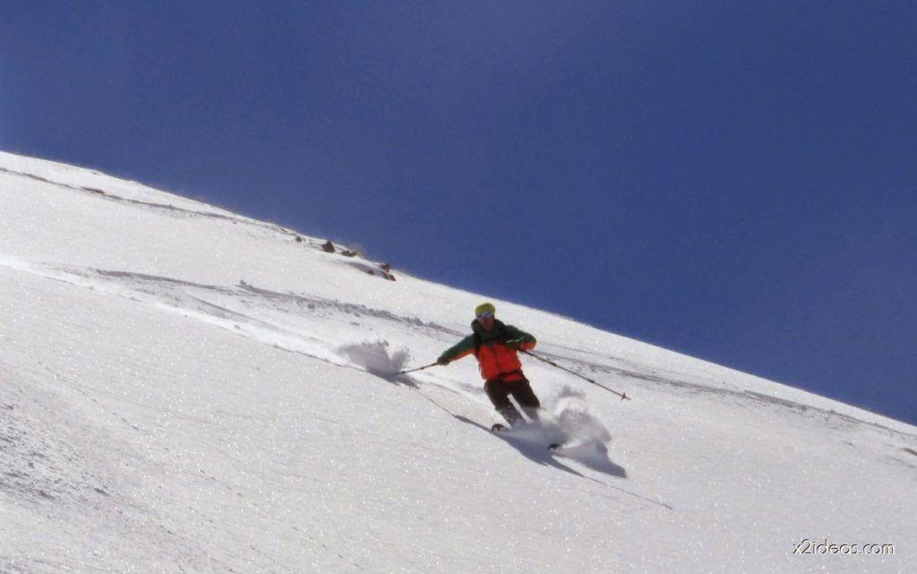 P1050011 1024x641 - Pico Gallinero con nieve polvo, Cerler