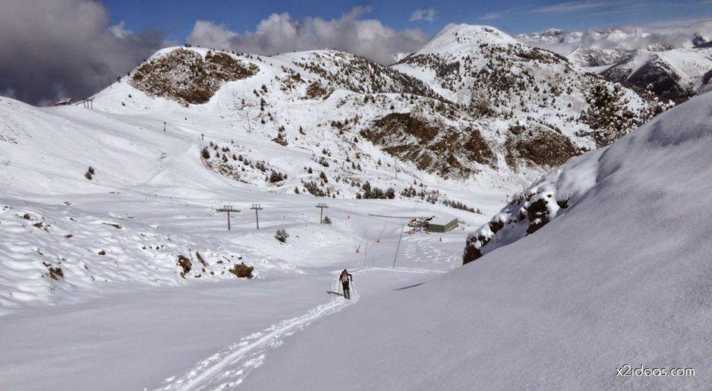 P1100135 1024x563 - Canal Amplia, sí y la estrenamos, Cerler (Valle de Benasque)