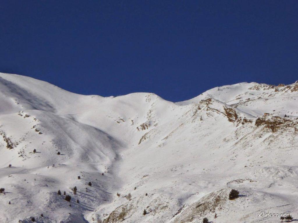 P1100236 1024x768 - Pico Gallinero con nieve polvo, Cerler