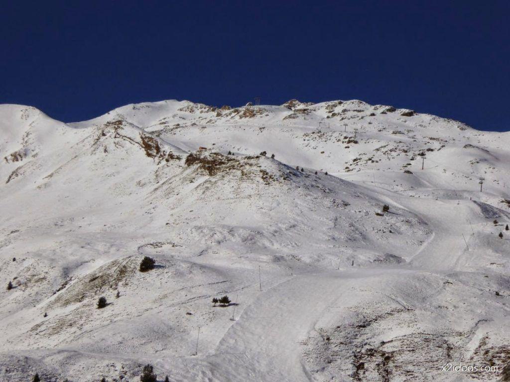 P1100237 1024x768 - Pico Gallinero con nieve polvo, Cerler