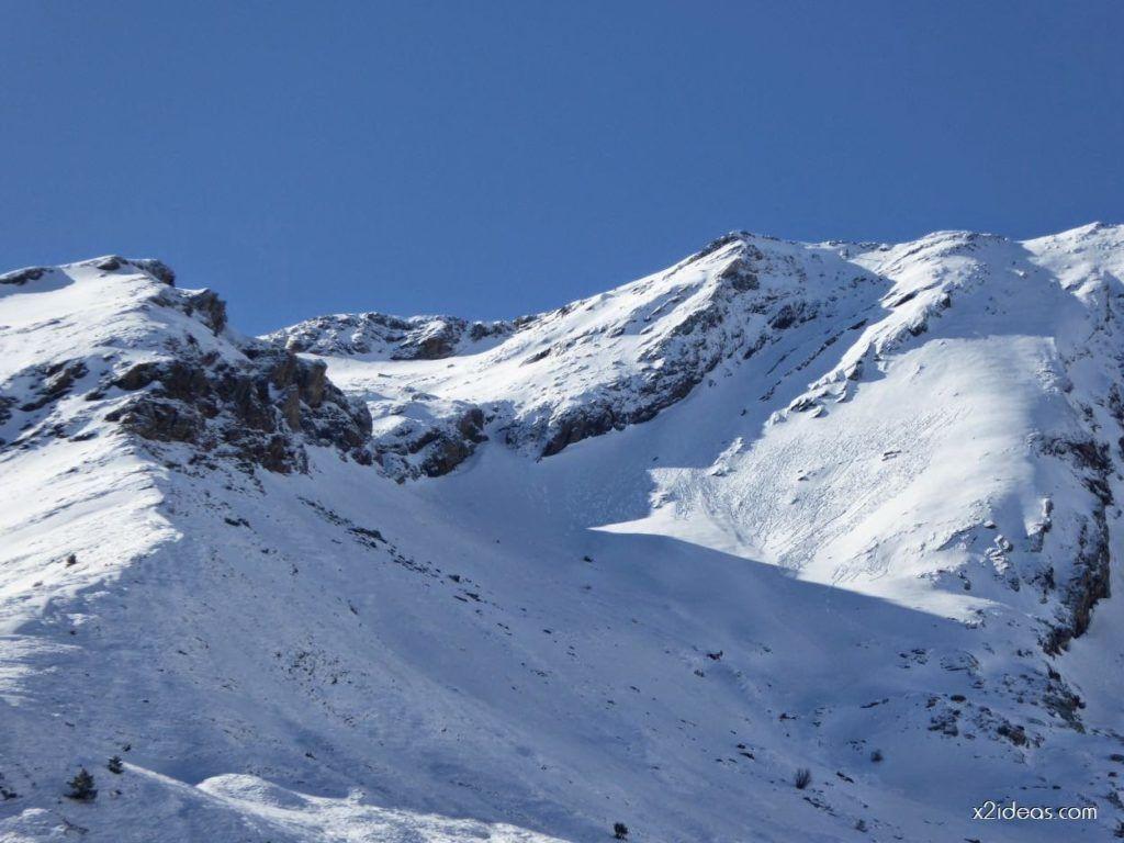 P1100239 1024x768 - Pico Gallinero con nieve polvo, Cerler