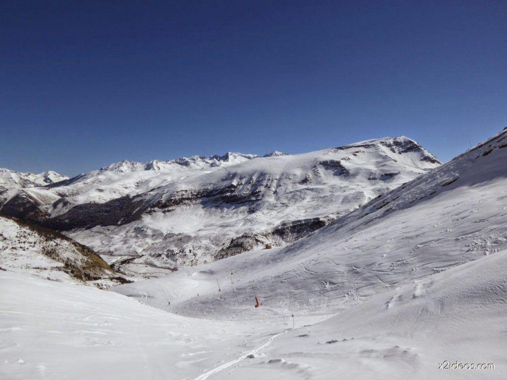 P1100243 1024x768 - Pico Gallinero con nieve polvo, Cerler
