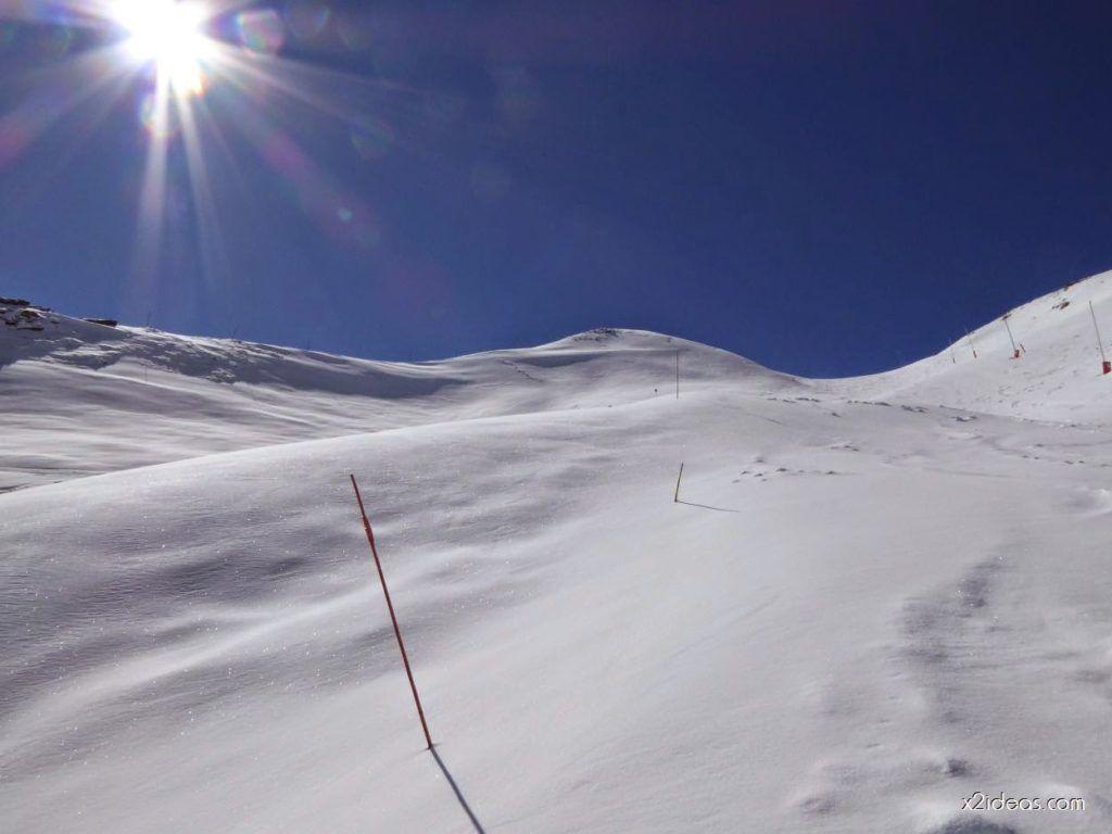 P1100247 1024x768 - Pico Gallinero con nieve polvo, Cerler